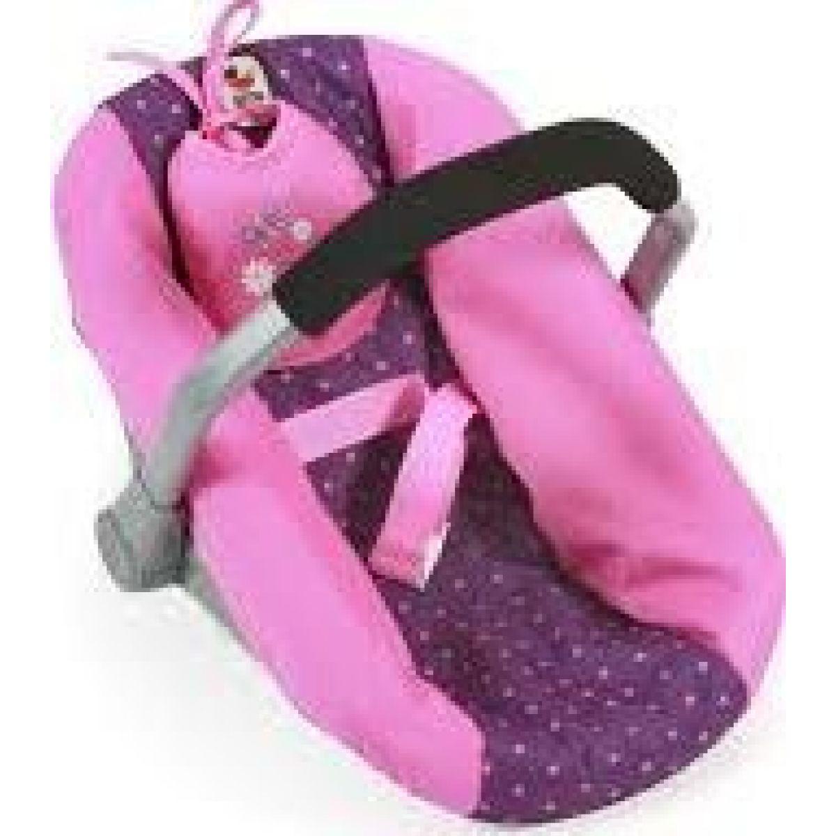 Bayer Chic Autosedačka Dots purple pink
