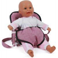Bayer Chic Klokanka pre bábiky ružová