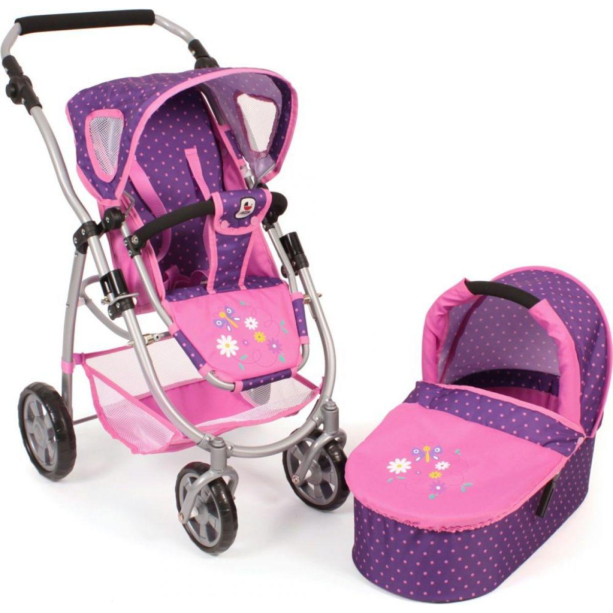 Bayer Chic EMOTION 2v1 Dots purple pink
