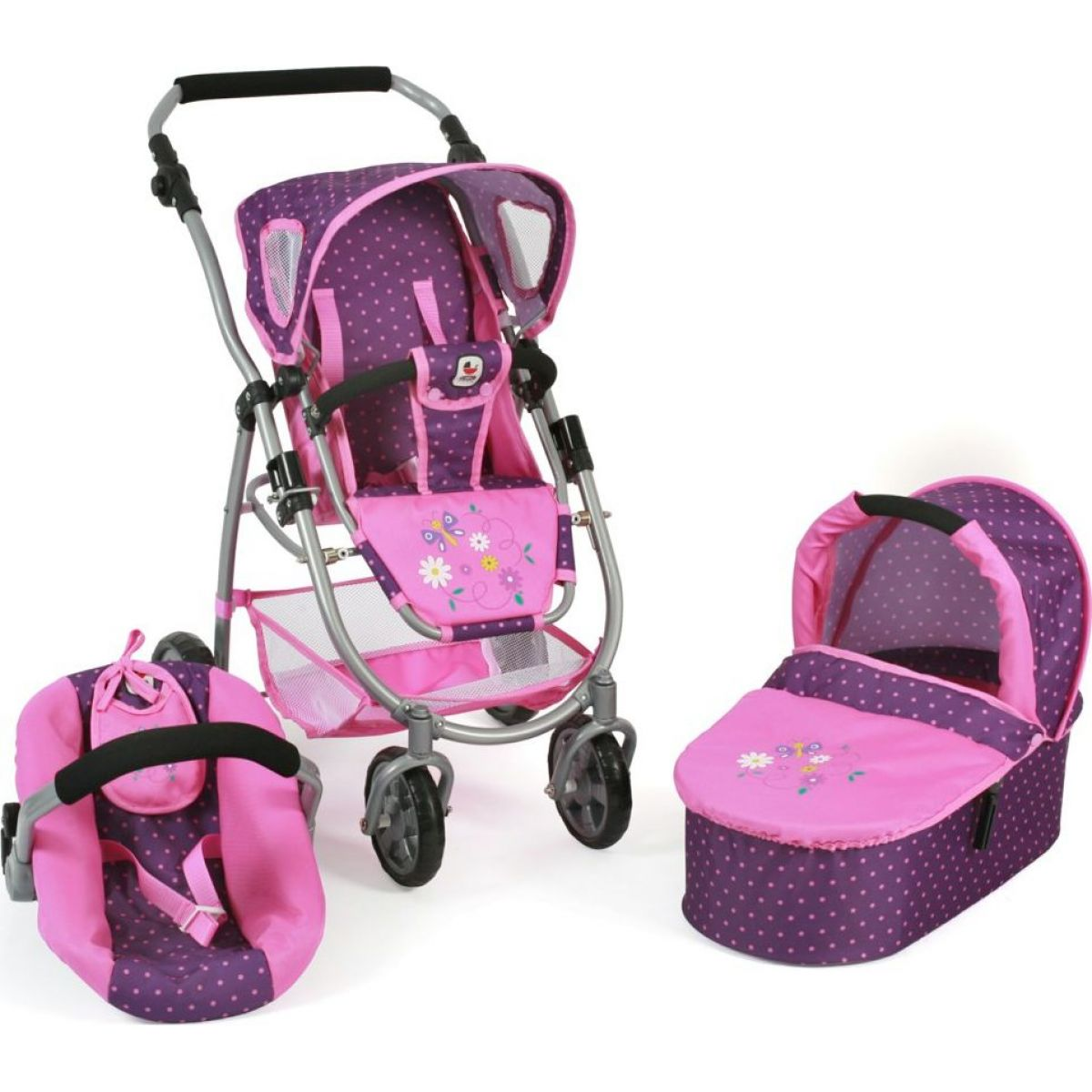 Bayer Chic Emotion All In 3v1 Dots purple pink