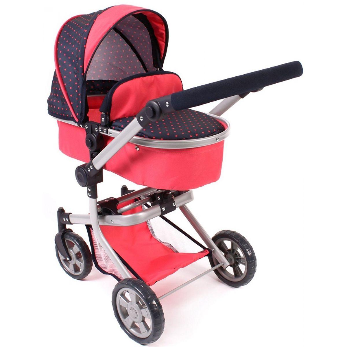 Bayer Chic Kočík pre bábiky Mika 2v1 Corallo