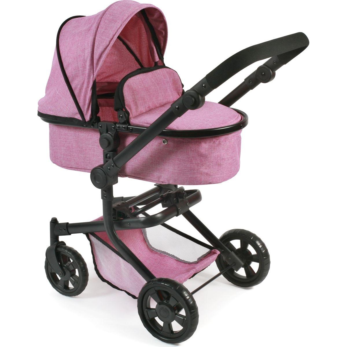 Bayer Chic Kočík pre bábiky Mika Pink Jeans