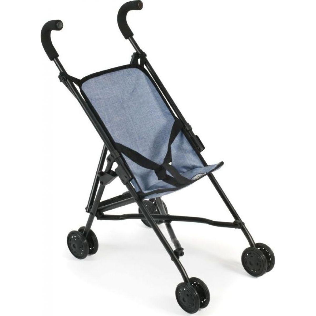 Bayer Chic Kočík pre bábiky Mini Buggy Roma - Jeans blue