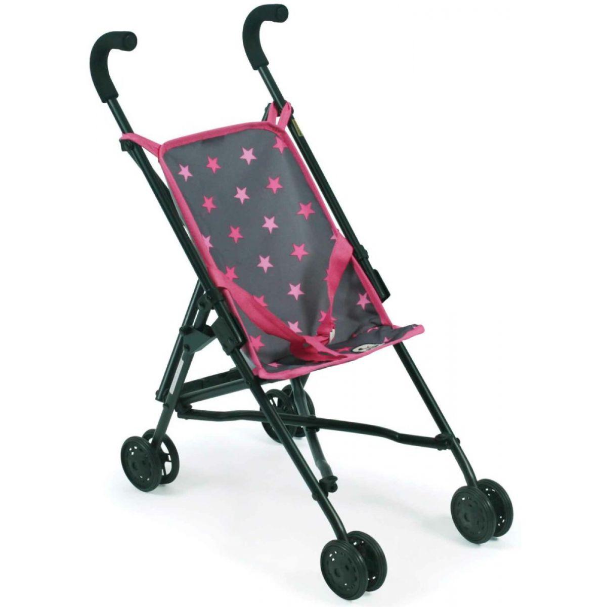 Bayer Chic Mini Buggy Roma hvězdičky růžové