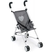 Bayer Chic Mini Buggy Roma jeans šedivá