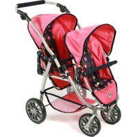 Bayer Chic VARIO Pro dvojčata Pink Checker