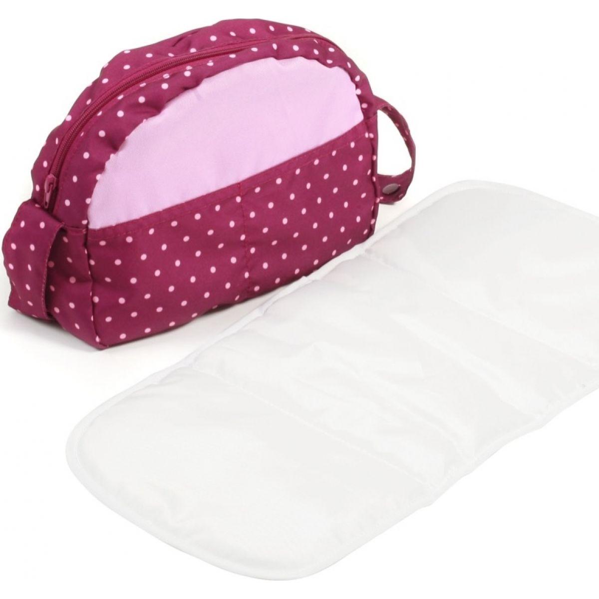 Bayer Chic Prebaľovacia taška ku kočíku - Dots Brombeere