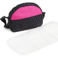 Bayer Chic Prebaľovacia taška ku kočíku Dots Navy Pink