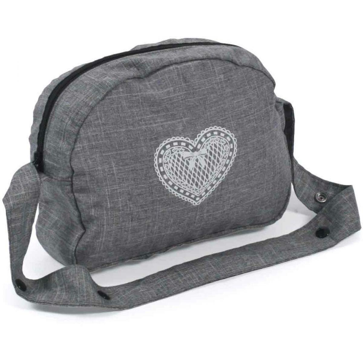 Bayer Chic Prebaľovacia taška na kočík jeans šedivá
