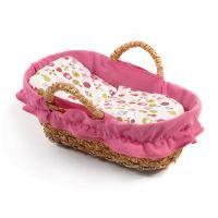 Bayer Chic Prútený košík ružový