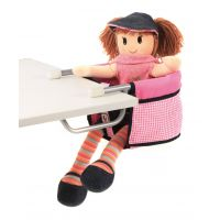 Bayer Chic Sedačka k stolu Pink Checker