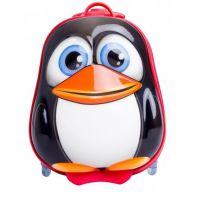 Bayer Chic Škrupinový kufrík s kolieskami tučniak