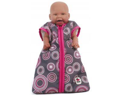 Bayer Chic Spací vak pre bábiky Galaxy Pink