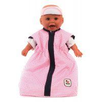 BAYER CHIC 2000 - 79246 - Spací vak pre bábiky - Pink Checker