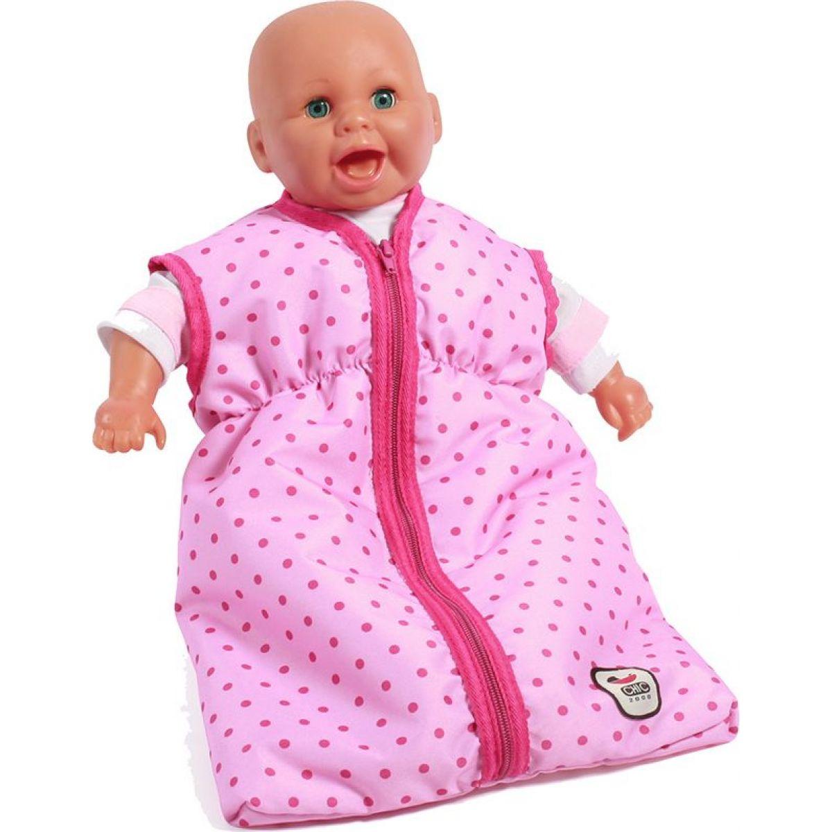 Bayer Chic Spací vak pre bábiky - Pink Dots