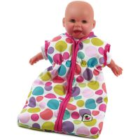 Bayer Chic Spací vak pre bábiku Pinky Bubbles