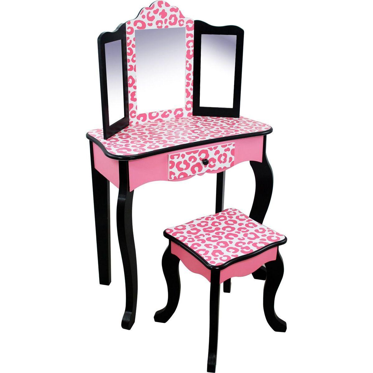 Bayer Chic Toaletní stolek růžový panter