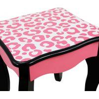 Bayer Chic Toaletní stolek růžový panter 5