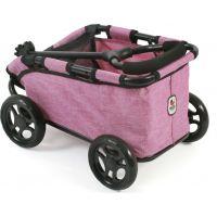 Bayer Chic Vozík Skipper - Pink Jeans 2