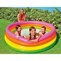 Intex 56441 Bazén štvorkomorový Zelené dno 2