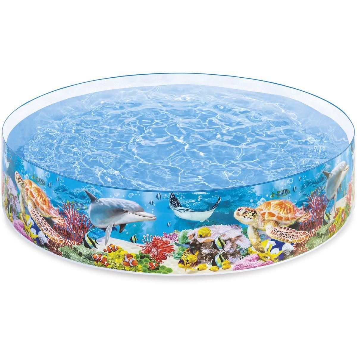 Bazén pevný 244x46cm Intex 58472 - Morský svet