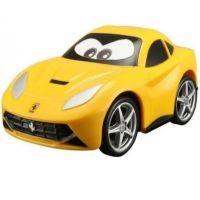 Bburago Ferrari plastové autíčko žluté