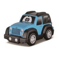 Bburago Jeep plastové autíčko modrý