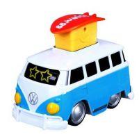 Bburago junior VW transporter zmáčkni a jeď modrý