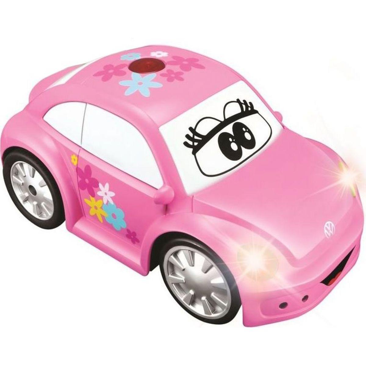 Bburago Volkswagen Beetle ružové