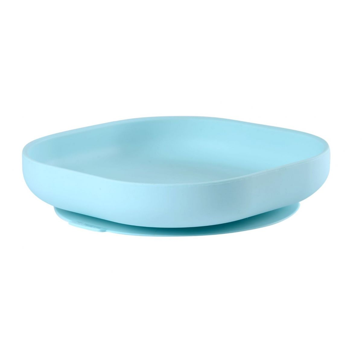 Béaba Tanier silikónový s prísavkou Blue