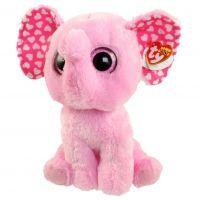 Beanie Boos SUGARrůžový slon 24 cm