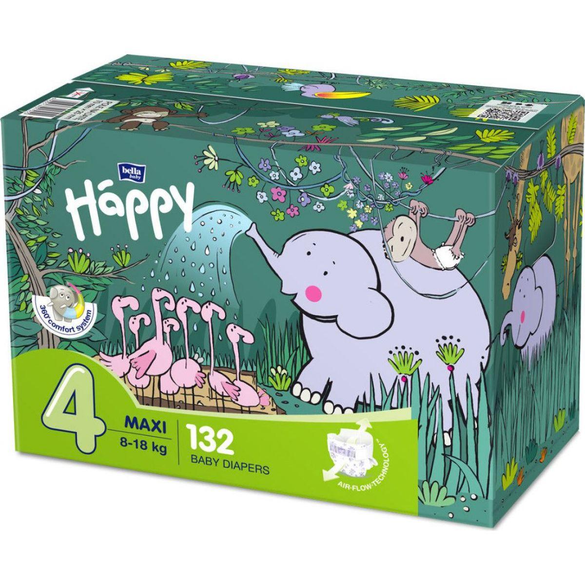 Bella Baby Happy Maxi Box á 66 ks x 2