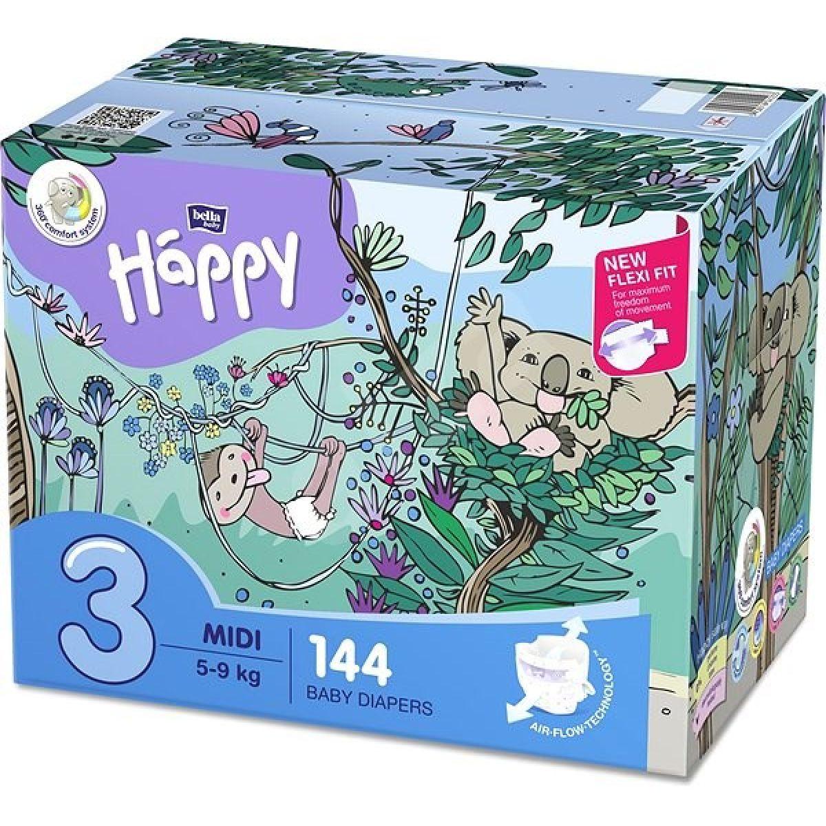 Bella Baby Happy Midi Box á 72 x 2 N