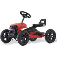 Berg Buzzy - Jeep Rubicon červeno-čierny