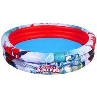 Bestway Nafukovací bazén Spiderman 3 pruhy priemer 152 cm
