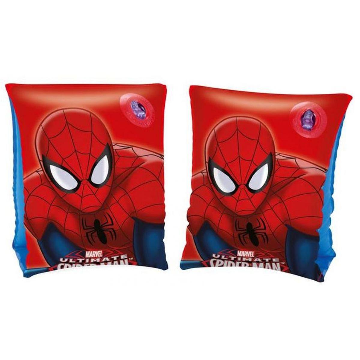 Bestway Nafukovacie rukávky Spiderman 23 x 15 cm