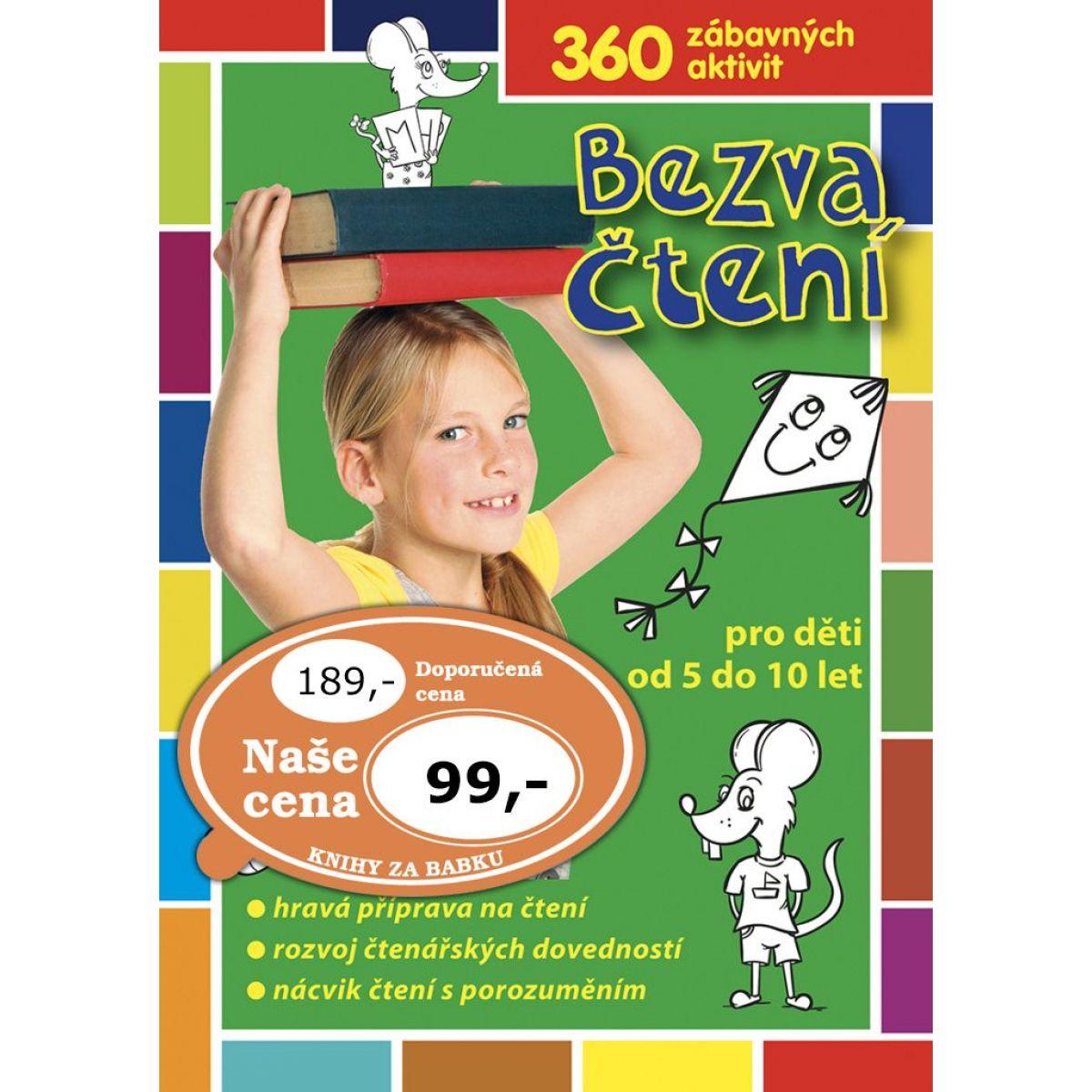 Raabe Bezva čítanie pre deti od 5 do 10 rokov CZ