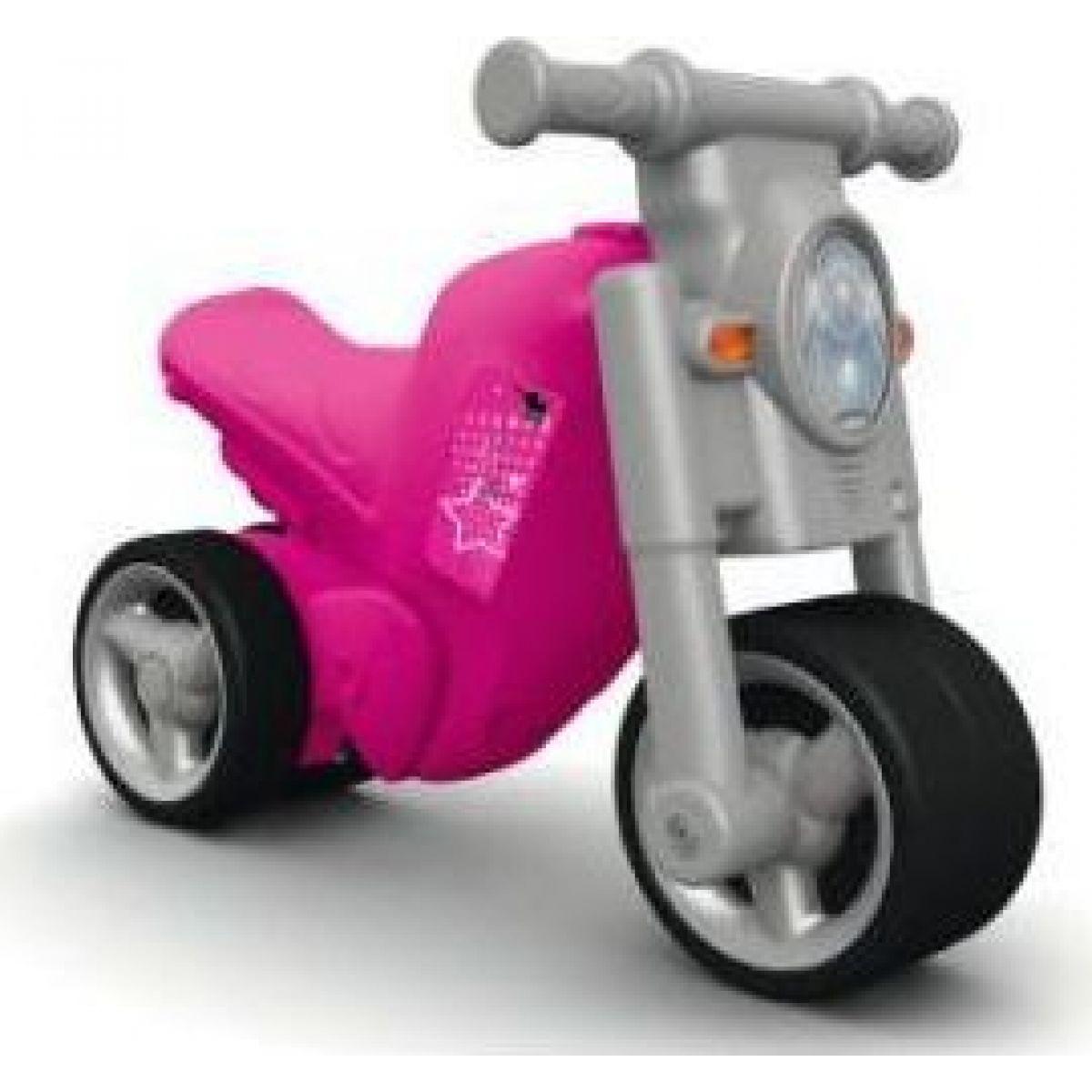 Big Girlie Bike Odrážadlo ružové - Poškodený obal