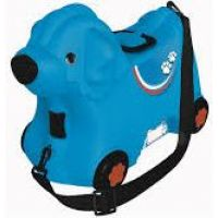 Big Kufrík odrážadlo psík modrý