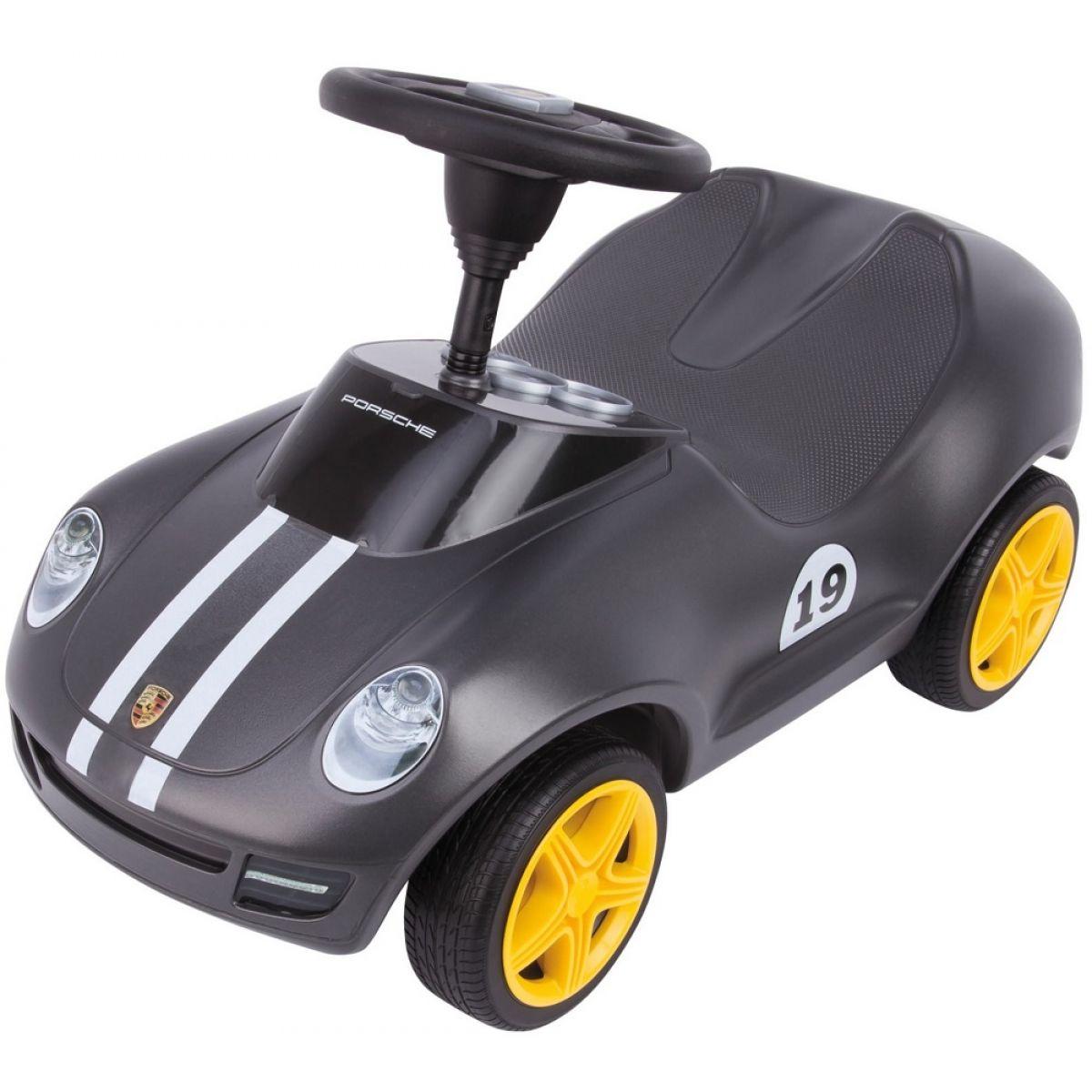 Big Odrážadlo Baby Porsche šedá
