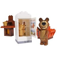 PlayBIG Bloxx Máša a medveď v izbe 2