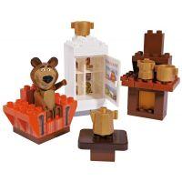 PlayBIG Bloxx Máša a medveď v izbe 3