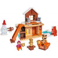 PlayBIG Bloxx Máša a medvěd Míšův zimní dům 2