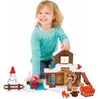 PlayBIG Bloxx Máša a medvěd Míšův zimní dům 4