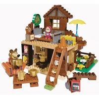 PlayBIG Bloxx Máša a medveď Míšov dom 2