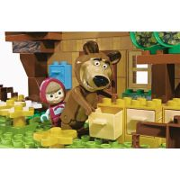 PlayBIG Bloxx Máša a medveď Míšov dom 4