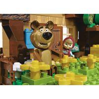 PlayBIG Bloxx Máša a medveď Míšov dom 5