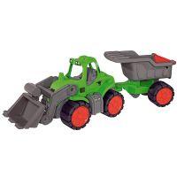 BIG Power traktor s nakladačom a prívesom 66 cm