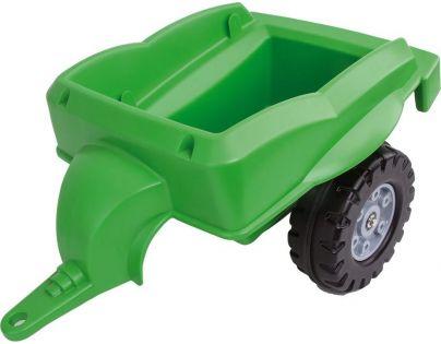 Big Prívesný vozík Bobbi Car zelený
