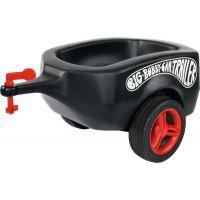 Big Prívesný vozík Bobby car čierny
